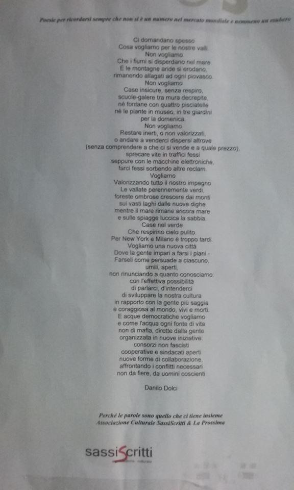 poesia per farsi coraggio
